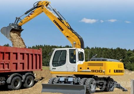 利勃海尔A900c轮式挖掘机