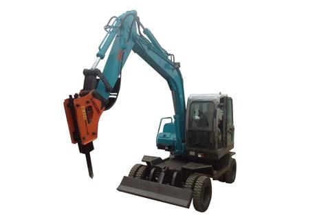 劲工JG95S双驱轮式挖掘机