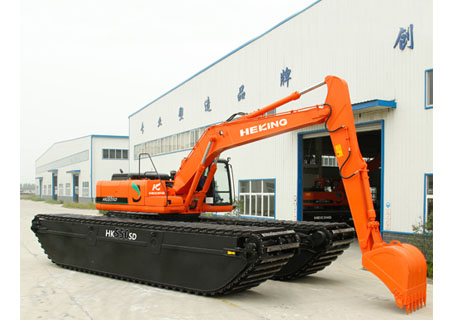 合矿HK550SD湿地液压挖掘机