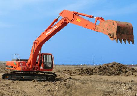 合矿HK215挖掘机