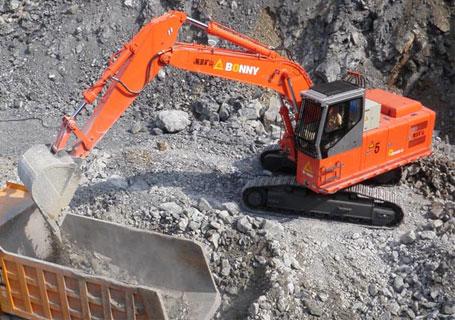 邦立重机CED480-8正铲挖掘机