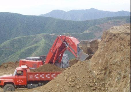邦立重机CE460-7正铲挖掘机
