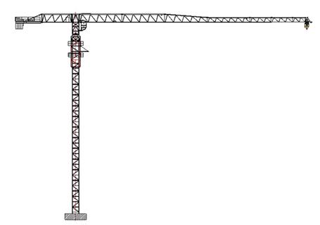 克瑞PT140(6020)塔式起重机