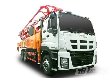 三一SYM5337THBDW 490 C9系列混凝土泵车