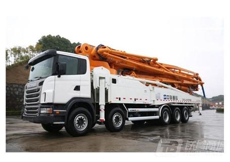 中联重科60X-7RZ混凝土泵车