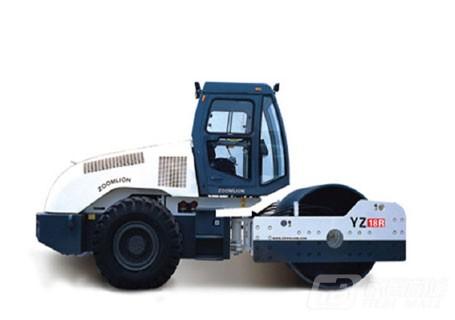 中联重科YZ18R全液压双驱单钢轮振动压路机