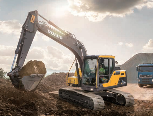 沃尔沃EC120D履带挖掘机