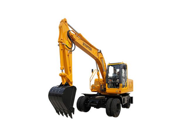 恒特HTL135-8轮式挖掘机