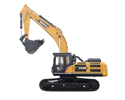 三一SY485H履带挖掘机