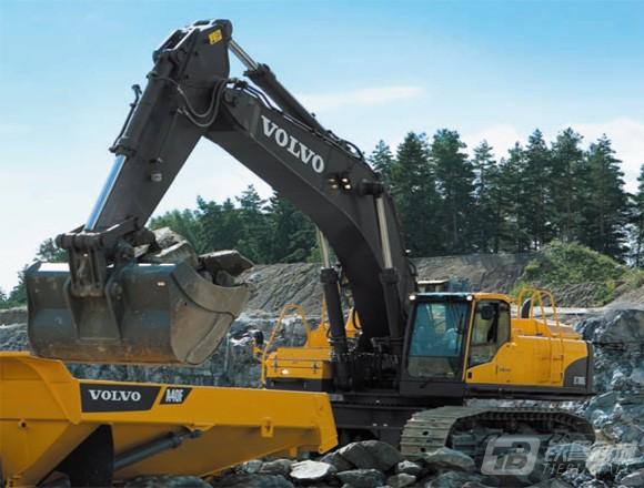沃尔沃EC700C挖掘机