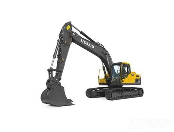 沃尔沃EC220DL履带挖掘机