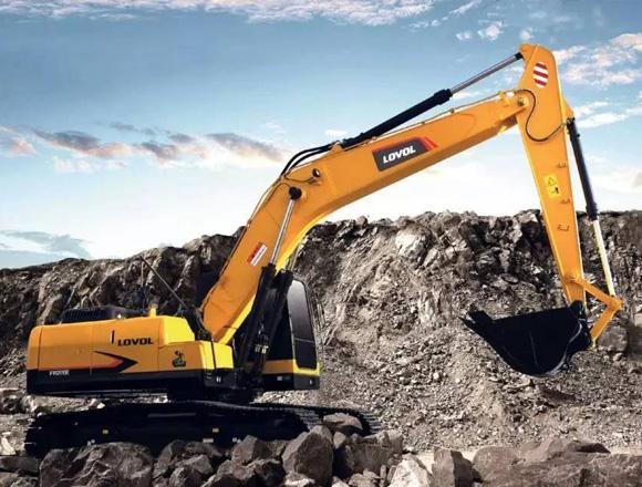 雷沃重工FR220E履带挖掘机
