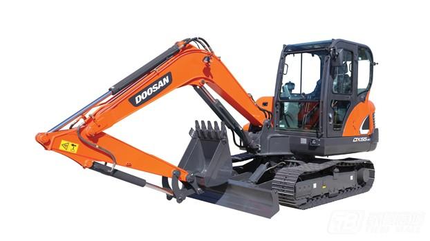 斗山DX55-9C履带挖掘机
