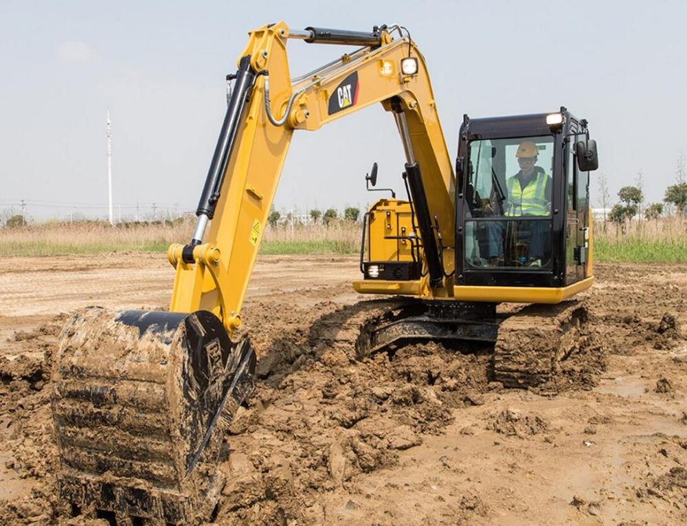 卡特彼勒307E2挖掘机