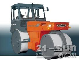 悍马HW90B10双钢轮压路机