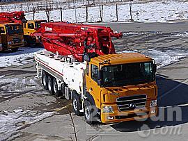 全进重工JXRZ48-5.16HD混凝土泵车