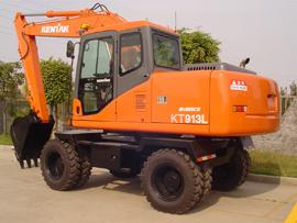 建德机械KT913L轮式挖掘机