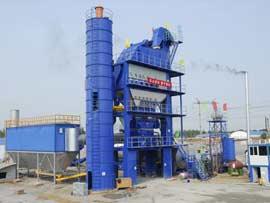 陆德筑机LD320沥青混合料搅拌设备