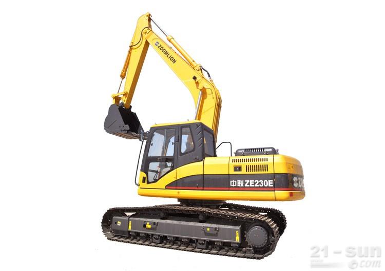中联重科ZE230E挖掘机外观图1