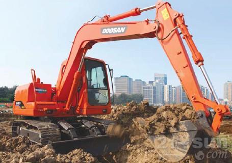 斗山DH80GOLD挖掘机外观图2