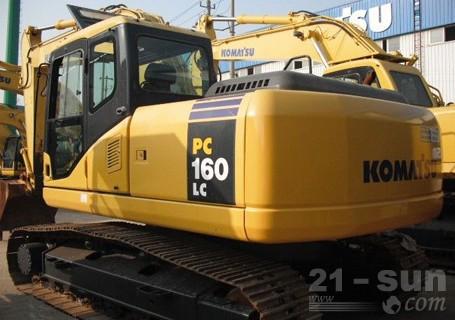 小松PC160LC-8挖掘机外观图2