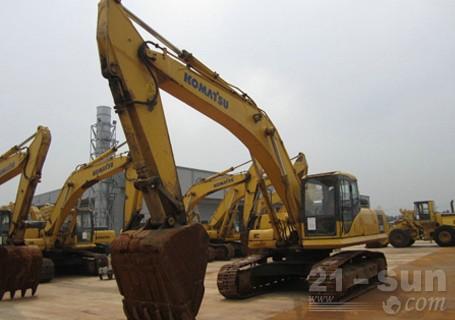 小松PC360-7挖掘机外观图3