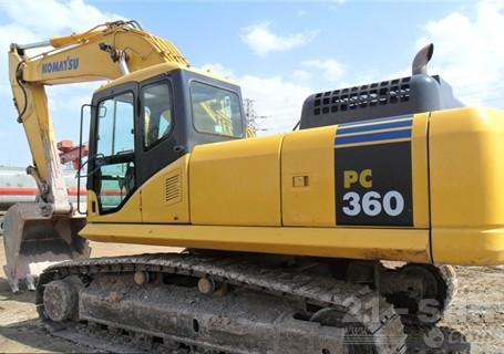 小松PC360-7挖掘机外观图2