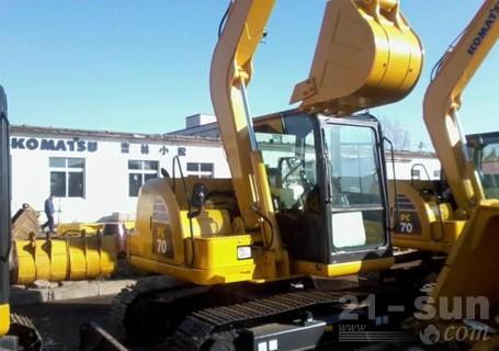 小松PC70-8挖掘机外观图1