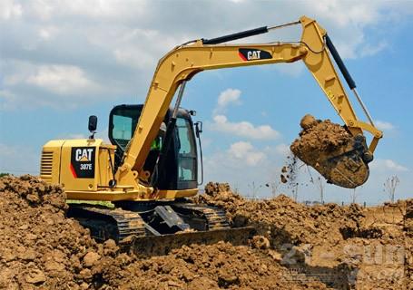 卡特彼勒307E挖掘机外观图4