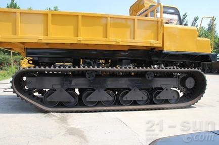 神娃机械SWY-60橡胶机械运输车外观图2