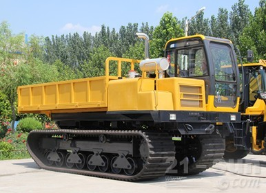 神娃机械SWY-60橡胶机械运输车外观图1