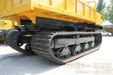 神娃机械SWY-60橡胶机械运输车外观图3