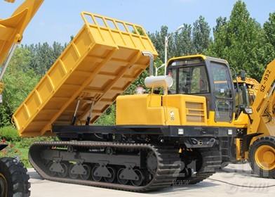 神娃机械SWY-60橡胶机械运输车外观图4