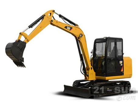 卡特彼勒306E挖掘机外观图1