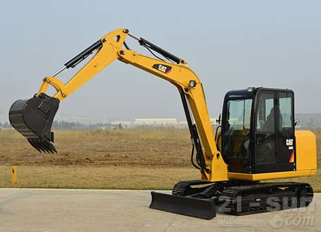 卡特彼勒306E挖掘机外观图4