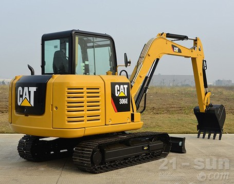 卡特彼勒306E挖掘机外观图2
