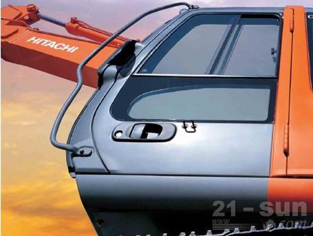 日立ZX120挖掘机外观图2