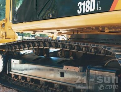 卡特彼勒318DL重型应用液压挖掘机外观图4