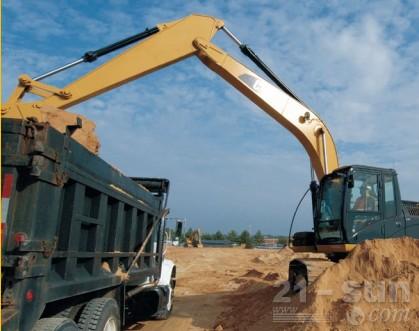 卡特彼勒318DL重型应用液压挖掘机外观图5