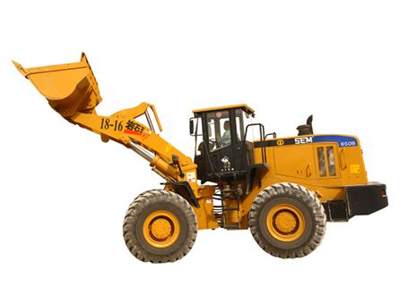 山工SEM680D轮式装载机外观图1
