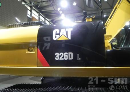 卡特彼勒326DL液压挖掘机外观图2