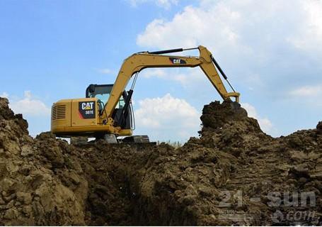 卡特彼勒307E挖掘机外观图5