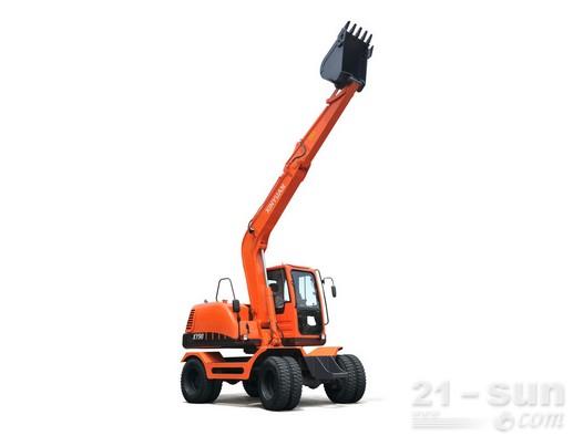 新源机械XY90轮式挖掘机外观图2