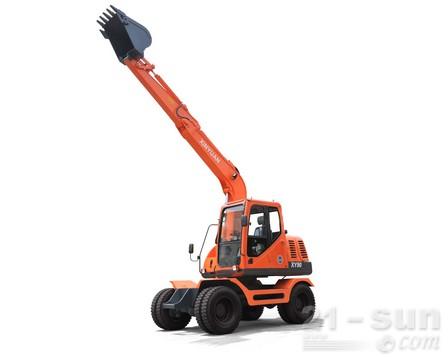 新源机械XY90轮式挖掘机外观图3