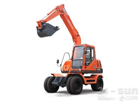新源机械XY90轮式挖掘机外观图1