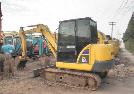 小松PC56-7液压挖掘机外观图8