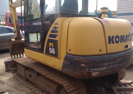 小松PC56-7液压挖掘机外观图9