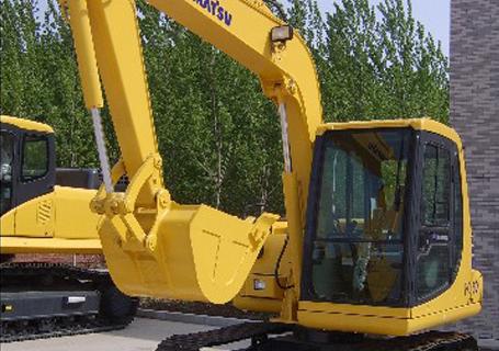 小松PC60-8液压挖掘机外观图5