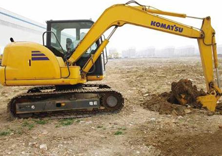 小松PC70-8液压挖掘机外观图6