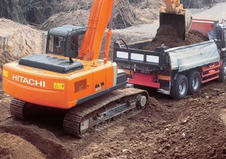日立ZX200-3挖掘机外观图7